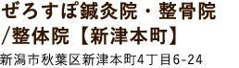 ぜろすぽ鍼灸院・整骨院/整体院【新津本町】