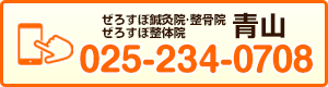 ぜろすぽ鍼灸院・整骨院/ぜろすぽ整体院【青山】