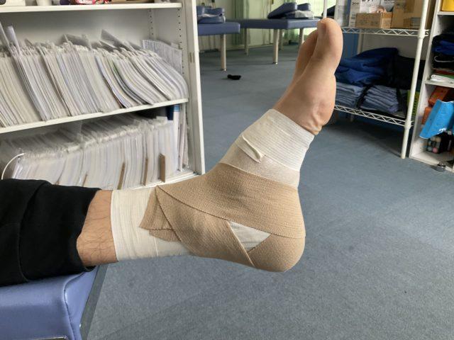 アキレス腱部の痛み、それは有痛性三角骨障害 新潟市西区整骨院